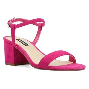 Gloria block heel dress sandal
